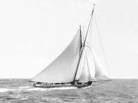 Cutter Sailing on the Ocean, 1910 Fine-Art Print