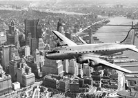 Flying over Manhattan, NYC Fine-Art Print