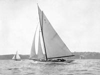 Victorian sloop on Sydney Harbour, 1930 Fine-Art Print