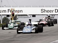 Historical Race Cars at Grand Prix, Nurburgring Fine-Art Print