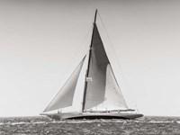 Classic  Racing Sailboat Fine-Art Print