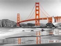 Baker Beach and Golden Gate Bridge, San Francisco 1 Fine-Art Print