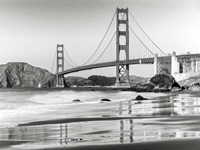 Baker Beach and Golden Gate Bridge, San Francisco 2 Fine-Art Print