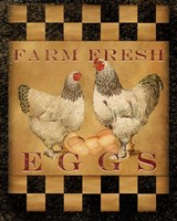 Farm Fresh Eggs I Framed Print