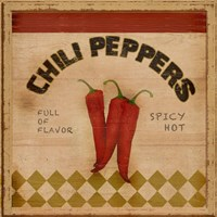 Chili Peppers Fine-Art Print