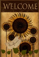 Sunflowers Welcome Fine-Art Print