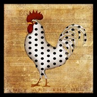 Chicken Polka Dot Fine-Art Print