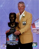 Brett Favre 2016 NFL Hall of Fame Induction Ceremony Fine-Art Print