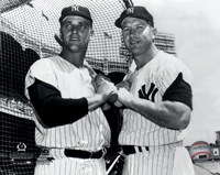 Mickey Mantle & Roger Maris Posed Fine-Art Print