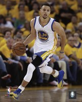 Stephen Curry 2016 NBA Playoff Action Fine-Art Print