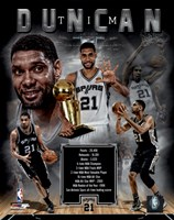 Tim Duncan Legends Composite Fine-Art Print