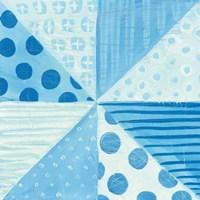 Modern Americana VIII Blue Fine-Art Print
