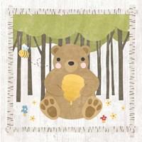 Woodland Hideaway Bear Fine-Art Print