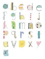 Alphabet II Fine-Art Print