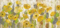 Floating Yellow Flowers I Fine-Art Print