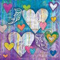 Winged Hearts Fine-Art Print