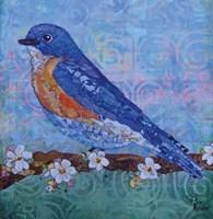 Blue Bird Fine-Art Print