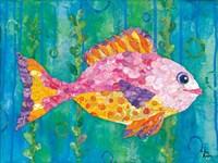 Polka Dot Fish Fine-Art Print