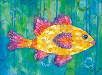 Yellow Fish Fine-Art Print