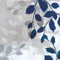 Leaves in the Mist I Fine-Art Print