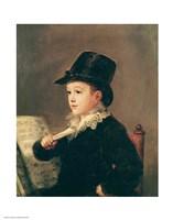 Portrait of Mariano Goya Fine-Art Print