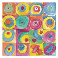 Circles Bright Fine-Art Print