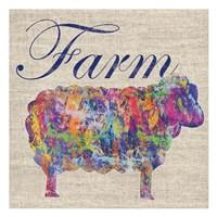 Sheep Farm Fine-Art Print