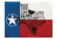 Rustic Texas Flag Fine-Art Print