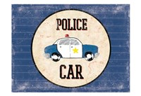 Police Car Blues Fine-Art Print