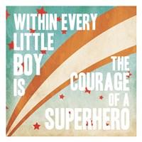 Superhero Power Fine-Art Print