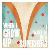 Superhero Power Mate Fine-Art Print
