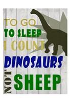 To Go To Sleep Fine-Art Print