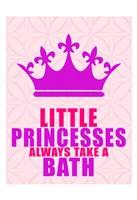 Little Princesses Bath Fine-Art Print