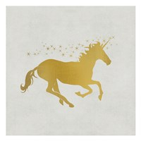 Unicorn Gold 1 Fine-Art Print