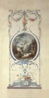 Panelled Detail of Doves Fine-Art Print