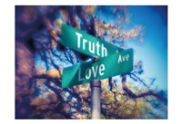 Truth and Love Fine-Art Print
