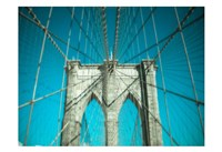 Brooklyn Aqua Fine-Art Print