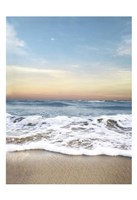 Sunrising Wave Curl Fine-Art Print
