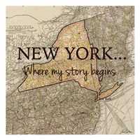 New York Story Fine-Art Print