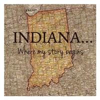 Story Indiana Fine-Art Print