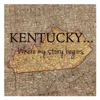 Story Kentucky Fine-Art Print
