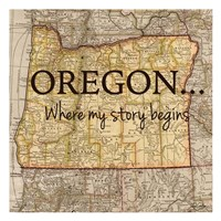 Story Oregon Fine-Art Print