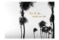 Wandering Golden Palms Fine-Art Print