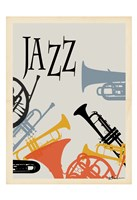 Jazz 1 Framed Print