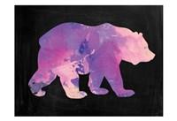 The Purple Bear Fine-Art Print