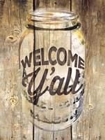 Welcome Ya'll Fine-Art Print