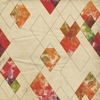 Geometric Color Shape II Fine-Art Print