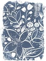 Garden Batik II Fine-Art Print