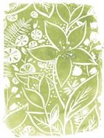 Garden Batik III Fine-Art Print