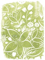 Garden Batik IV Fine-Art Print
